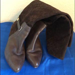 Coach midi length boots